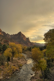Watchman Sunset 2258